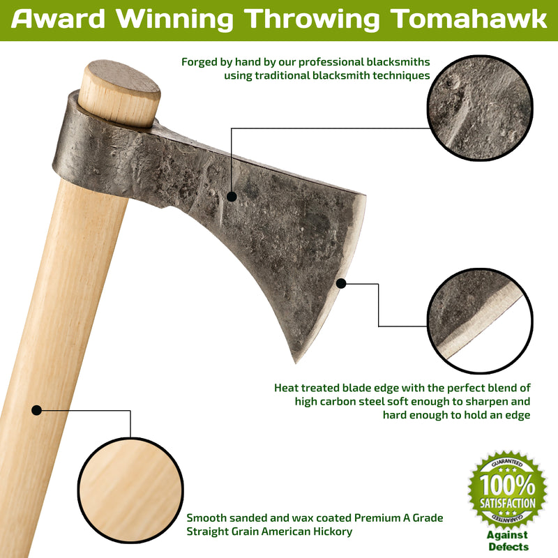 Award Winning Throwing Tomahawk
