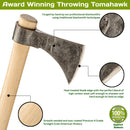 Scout Throwing Tomahawk