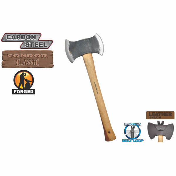Double Bit Michigan Axe by Condor