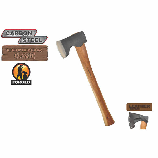 18 Inch Woodworker Axe by Condor