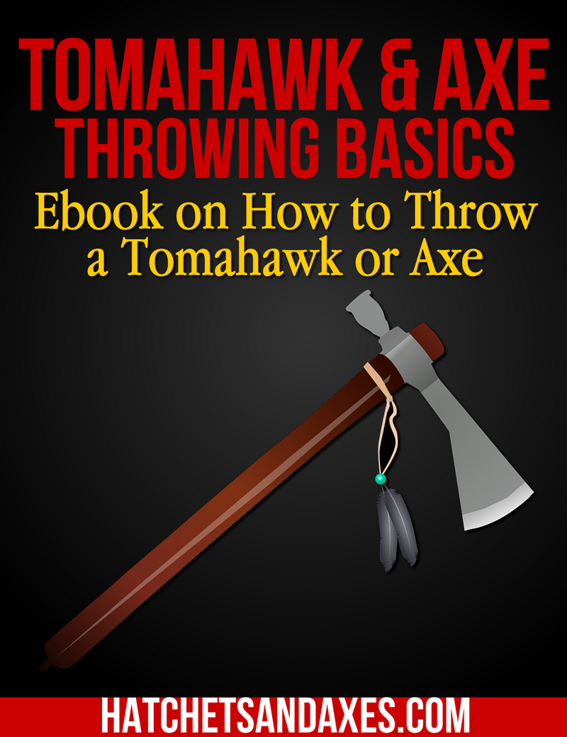 E-Book for Axe and Tomahawk Throwing Basics