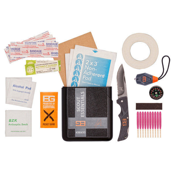 Scout Essentials Kit in a Plastic Case