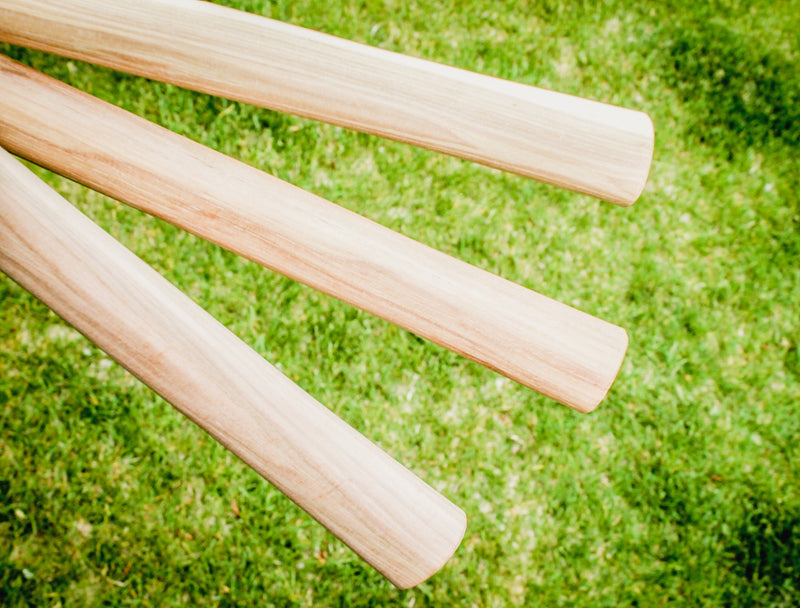 Straight Grain Hickory Double Throwing Tomahawk Handles