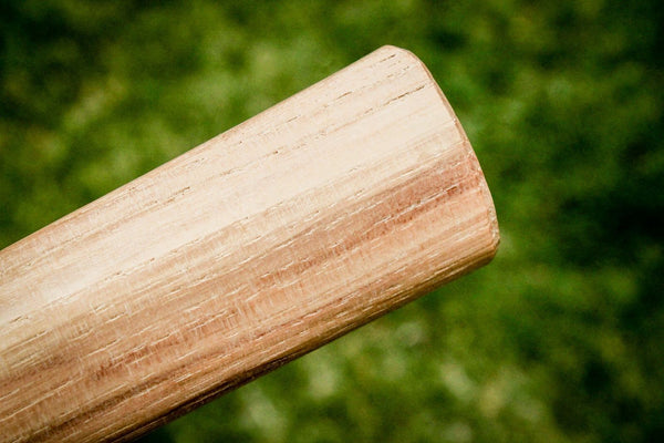 "19"" Straight Grain Hickory Double Throwing Tomahawk Handle"
