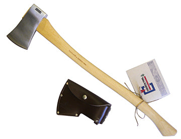 2.25lb Velvicut Premium Felling Axe with Leather Sheath