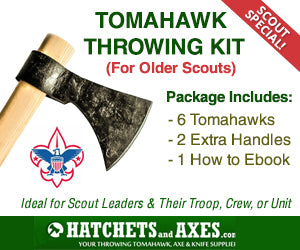 Tomahawk Throwing Kit Poster