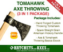 Tomahawk Axe Throwing 3-in-1 Package