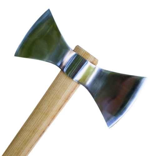 LIQUIDATION! Head ONLY - Double Bit Polished Throwing Tomahawk - No Handle