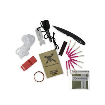8 Pcs Adventure Survival Kit by M48 Kommando