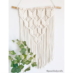 Peachlady Crafts Original Handmade Macrame