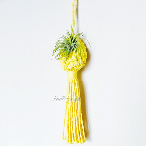 Craft supply macrame cords for Air Plant Holder / Pod DIY Kit | Craft Supply | Handmade plant hanger supply