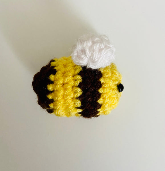 Handmade Little Bee Amigurumi Crochet Toy