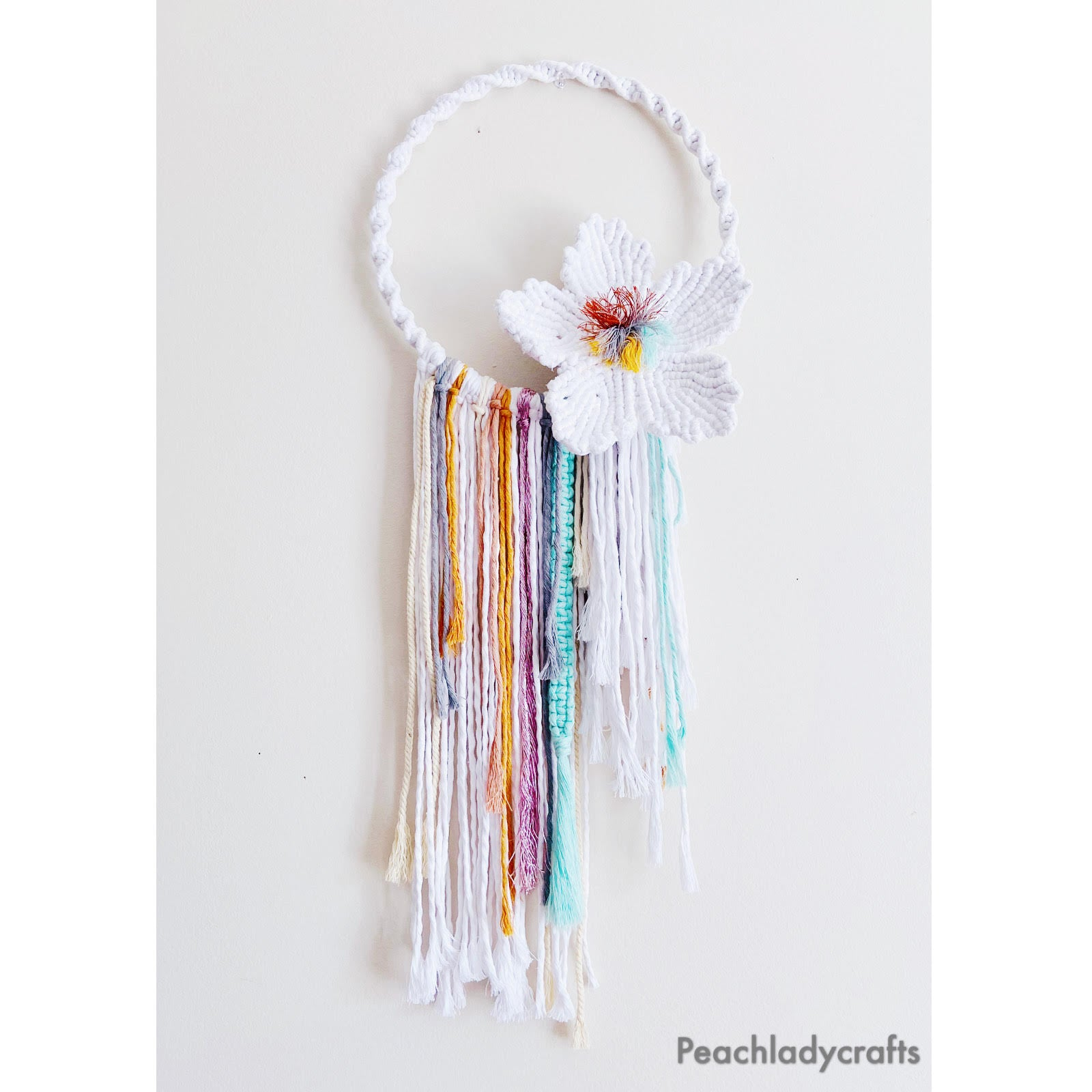 Flower Dream Handmade Macrame Wall Hanging