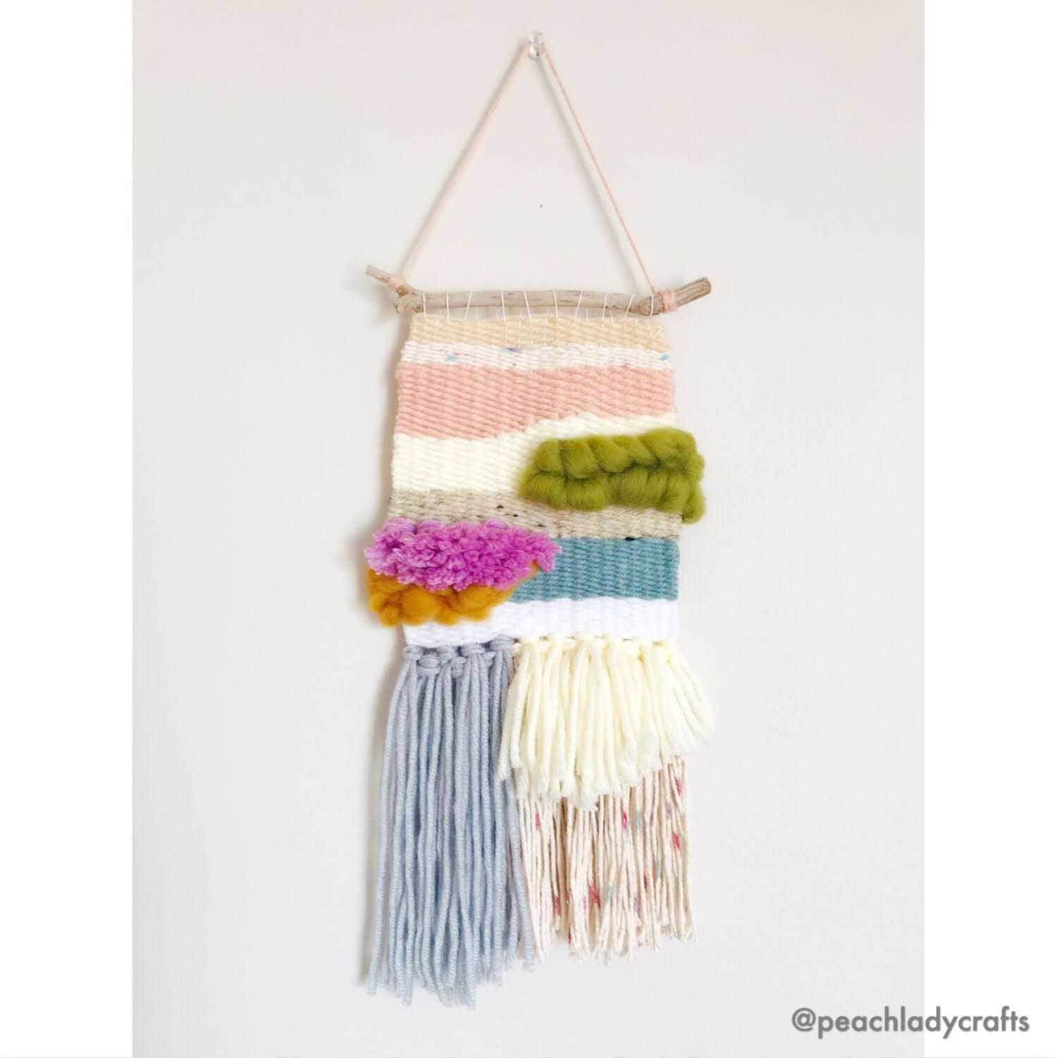 Handmade Spring Water Woven Wall Hanging - MADE TO ORDER