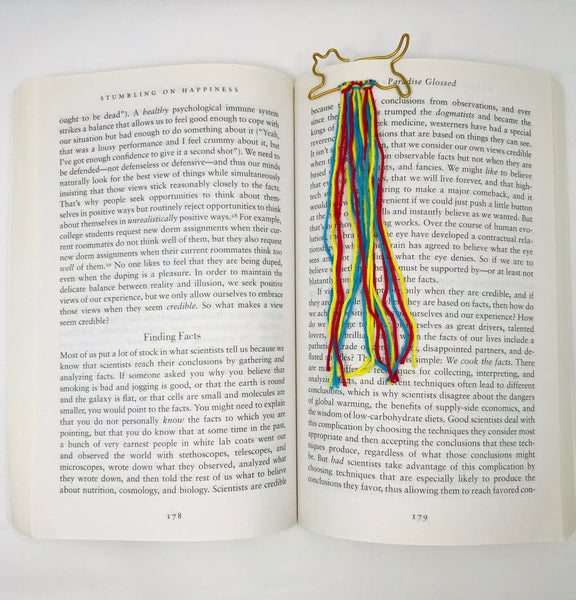 Peachlady Crafts Handmade Creative Yarn Bookmarks