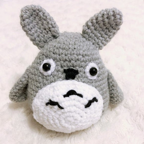 Peachlady Crafts Handmade Totoro Crocheted Amigurumi Toy