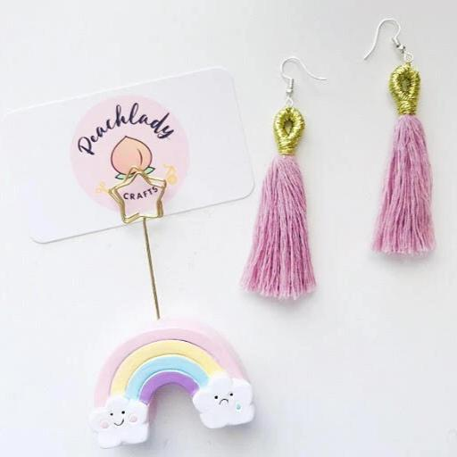 Golden Tassel Earrings