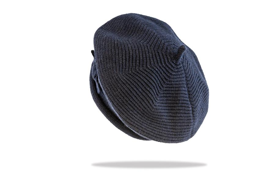 Women's Beret in Navy - The Hat Project