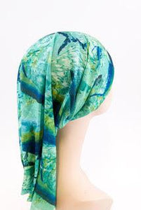 Head sock Aquamarine Turban