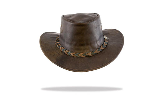 Men's Kangaroo Leather Hat - The Hat Project