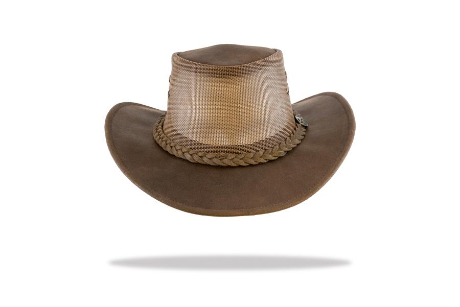 Australian-made Men's Cooler Leather Hat - The Hat Project