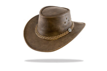 Load image into Gallery viewer, Leather Hat Australian Made Barmah-Lightning Ridge