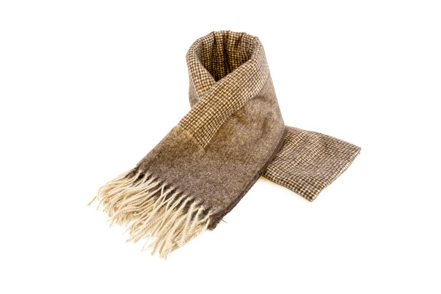 Women's Warm Winter Scarf in Burnished Brown - The Hat Project