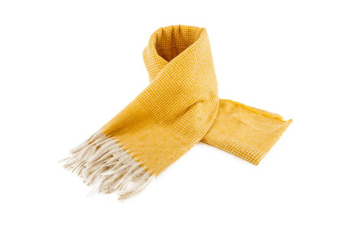 Women's Warm Winter Scarf in Honey - The Hat Project