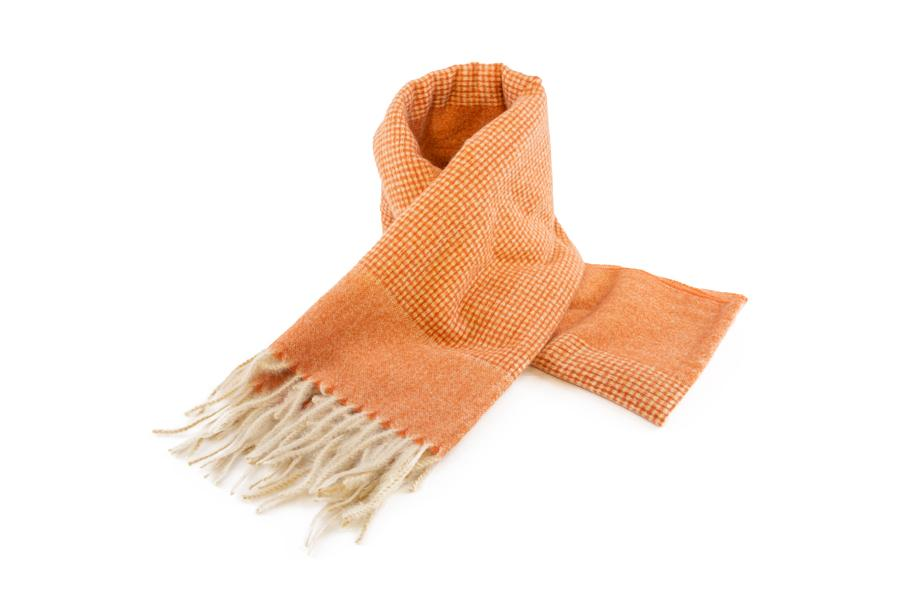 Women's Warm Winter Scarf in Marmalade Orange - The Hat Project