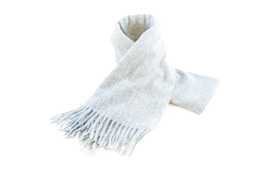 Women's Warm Winter Scarf in Powder Blue - The Hat Project