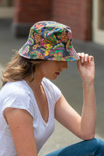 Load image into Gallery viewer, women's paisley bucket hat