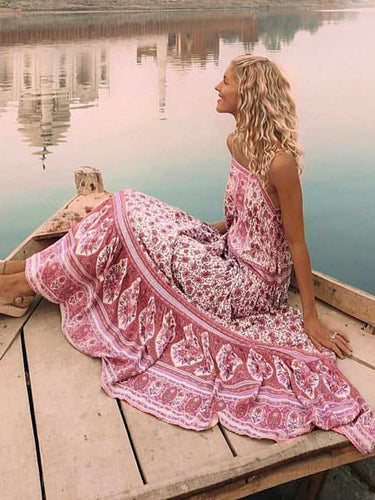 Jastie Jasmine Strappy Maxi Dress Bohemian Beach Long Dresses Strapless Summer Dress Women Clothing 2019 Casual Female Vestidos