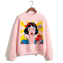 Load image into Gallery viewer, Funny Princess VOGUE Pink Hoodie Hip Hop Women Stree Twear Female Clothes Sweatshirts Pullovers Cartoon Casual Harajuku