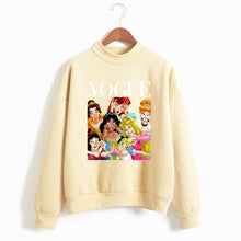 Load image into Gallery viewer, Women Princess Vogue Hoodie Female Winter Fleece Sweatshirt Christmas Black Friday Gift