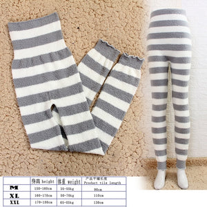 microfiber warm Pants Flexible Pants For Women's Warmth-keeping Household Pants During The Physiological Period To Increase
