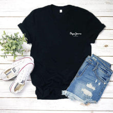 Load image into Gallery viewer, 2019 Tees Women T Shirt Print Letter T-shirt Casual White Black Pink Short Sleeve Cotton Tops Summer Brand clothing