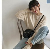 9 colors Korean solid color Knitted Sweaters Women Casual O Neck Loose Long Sleeve warm Sweater Female (F1322)