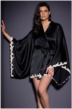 Load image into Gallery viewer, Sexy Kimono Robe Lingerie Nightgown Sleep Top Pajamas Gown Robe Underwear Femme Chemises Nightdress Sleepwear