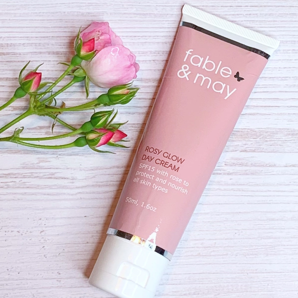 Fable & May: Rosy Glow Day Cream - Carousel Cosmetics