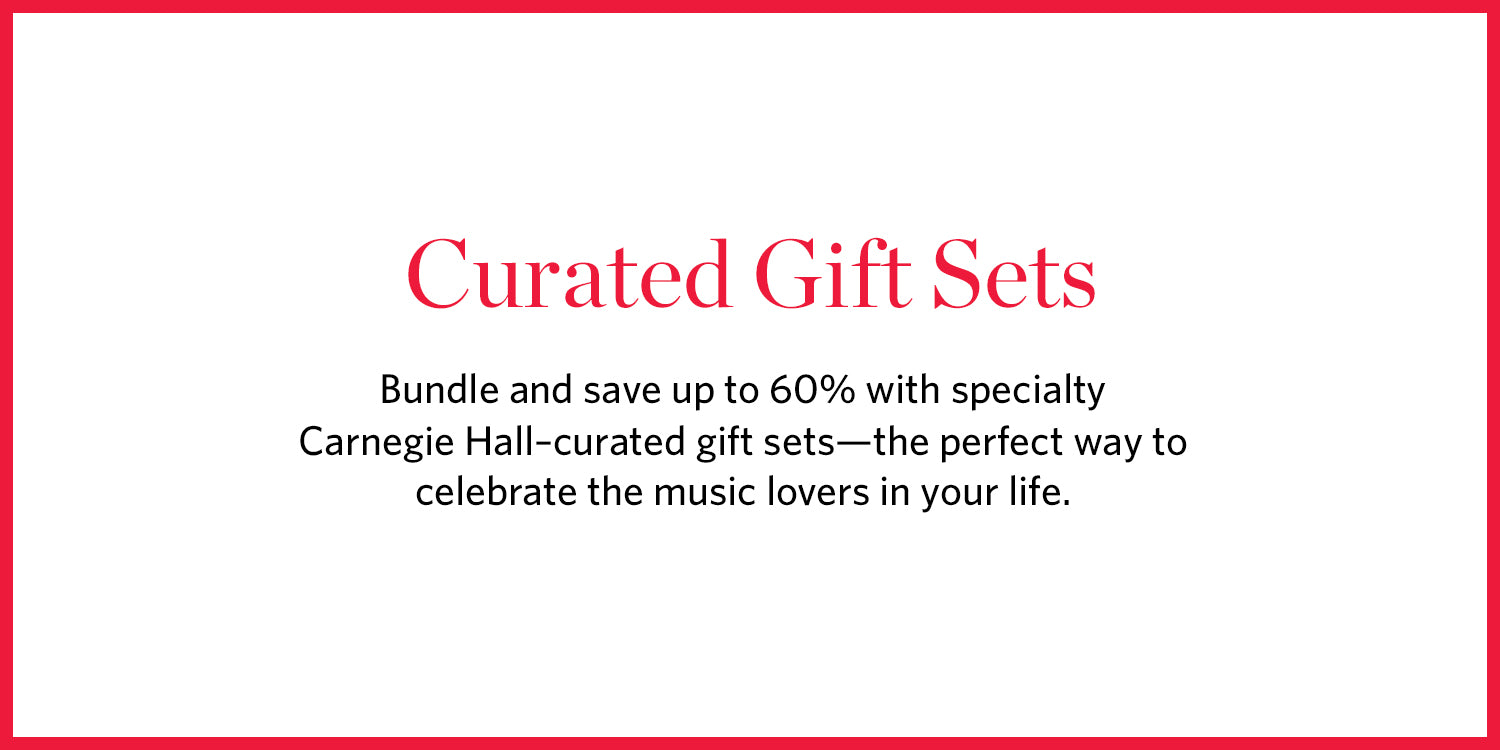 Carnegie Hall Curated Gift Sets