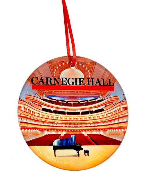 Isaac Stern Auditorium Glass Ornament
