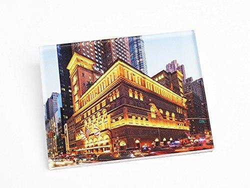 Carnegie Hall at Night Acrylic Magnet