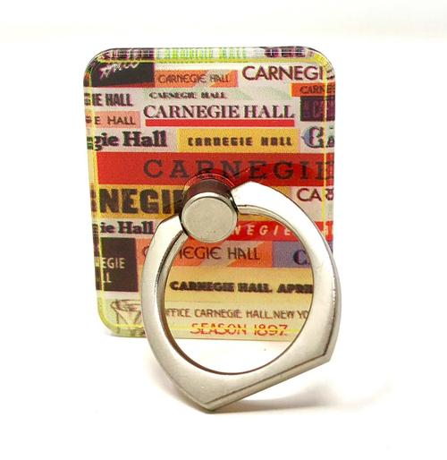 Vintage Logo Mobile Phone Ring Holder