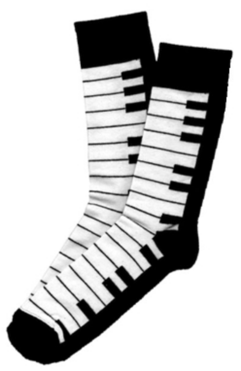 Keyboard Socks