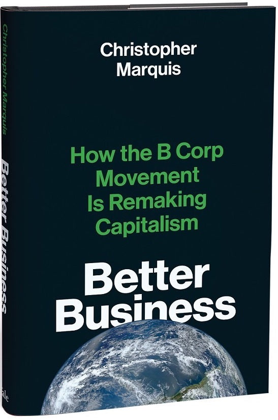 Better Business book cover - How the B Corp is remaking capitalism