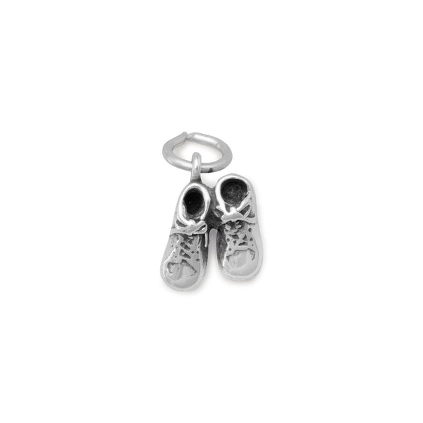 Pair Baby Shoes Charm