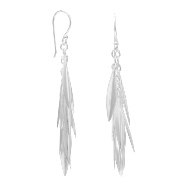 Marquise Cluster Drop Earrings