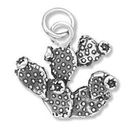 Prickly Pear Cactus Charm