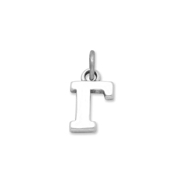 Greek Alphabet Letter Charm - Gamma