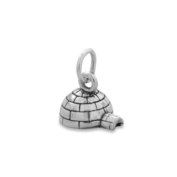 Oxidized Igloo Charm